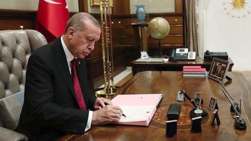 Cumhurbaşkanı Erdoğan imzaladı!