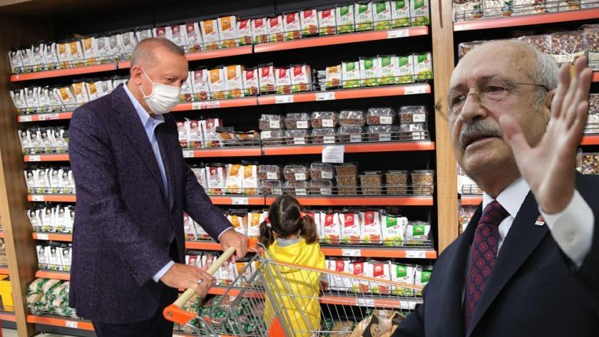 Kılıçdaroğlu'ndan Erdoğan'a 'tanzim market' tepkisi geldi!