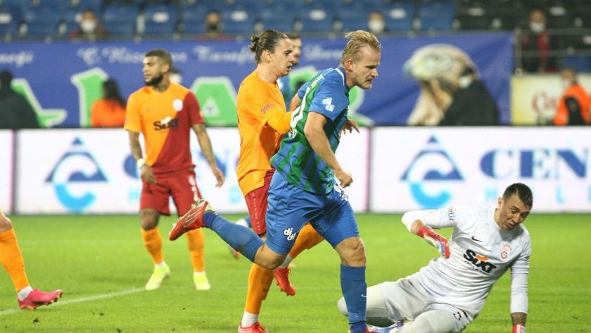 Galatasaray'dan Rizespor'a olay gönderme