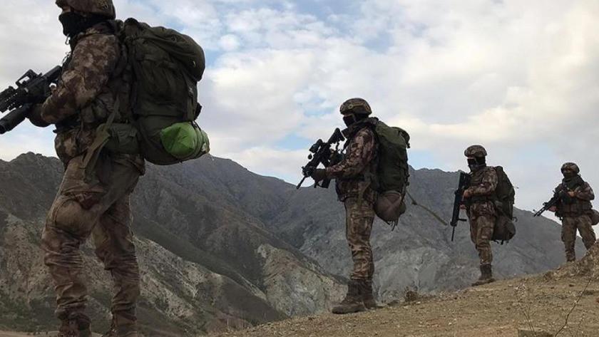 PKK'ya yönelik yapılan operasyonda 12 terörist etkisiz hale getirildi