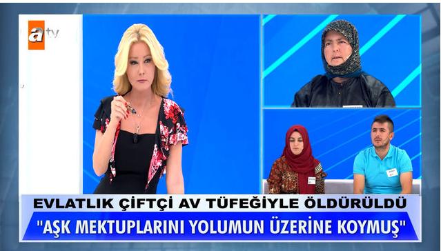 """Müge Anlı'ya Dürdane Kut'a gelen aşk mektubu damga vurdu! """"Koca ineğim civelek Dürdane'm"""" - Sayfa 1"""