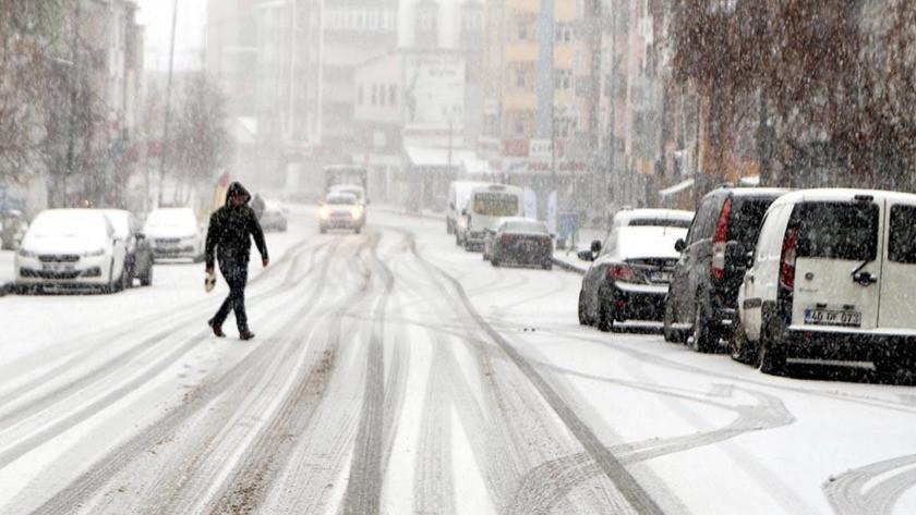 Meteoroloji duyurdu! Çok sayıda il için kar uyarısı...