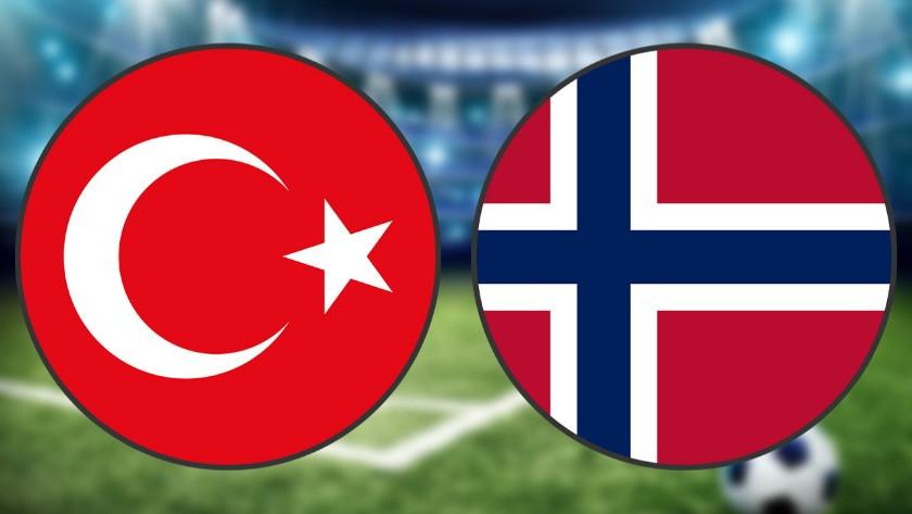 Türkiye Norveç maçı ne zaman saat kaçta hangi kanalda?