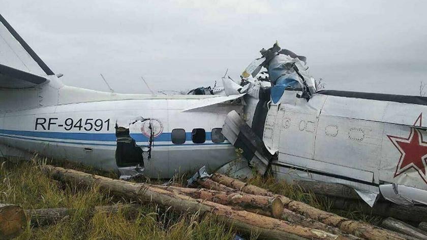 Paraşütçüleri taşıyan uçak düştü: 16 kişi öldü!
