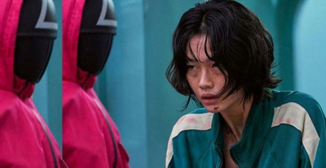 Squid Game'in güzel oyuncusu HoYeon Jung rekora koşuyor! - Sayfa 1