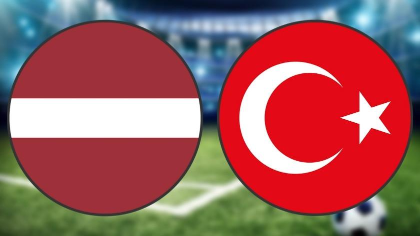 Letonya Türkiye maçı ne zaman saat kaçta hangi kanalda?