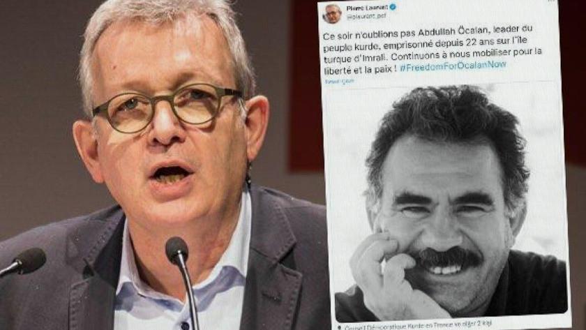 Fransız siyasetçiden skandal Abdullah Öcalan paylaşımı