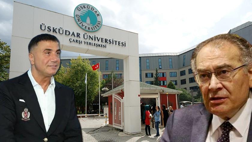 Üsküdar Üniversitesi'nden iddialar hakkında açıklama: Sedat Peker'in elinde bilgi ve belge varsa...
