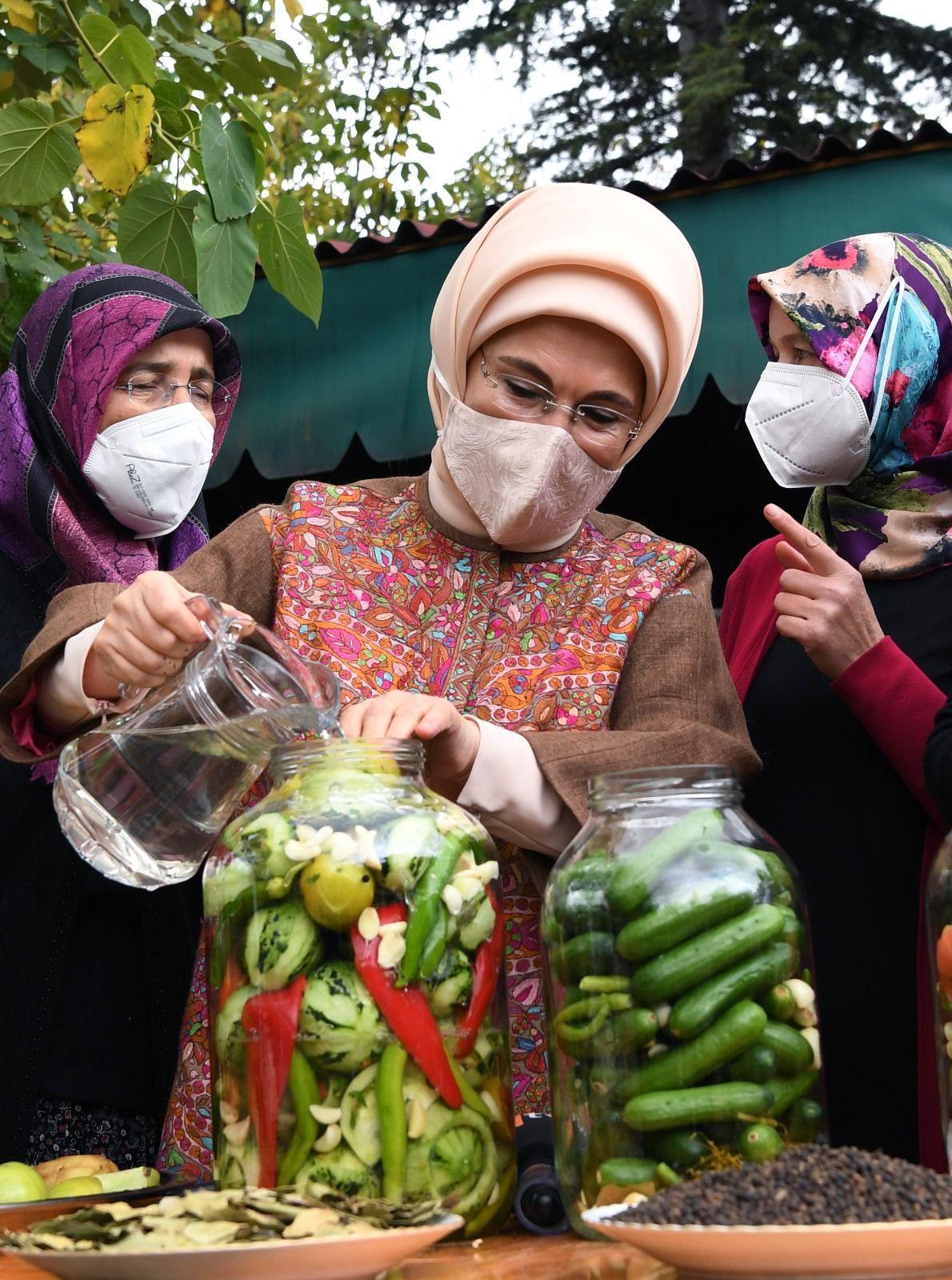 Emine Erdoğan'ın kurduğu turşu, çiftçi kadınlardan tam puan aldı - Sayfa 2