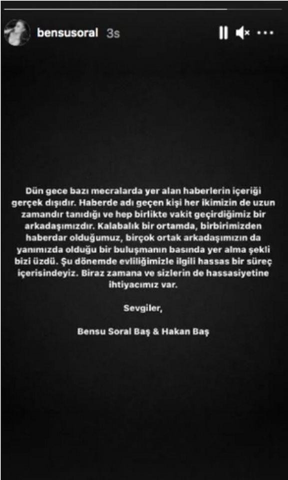 Bensu Soral ve Hakan Baş boşandı mı? Magazini sallayan iddia! - Sayfa 4