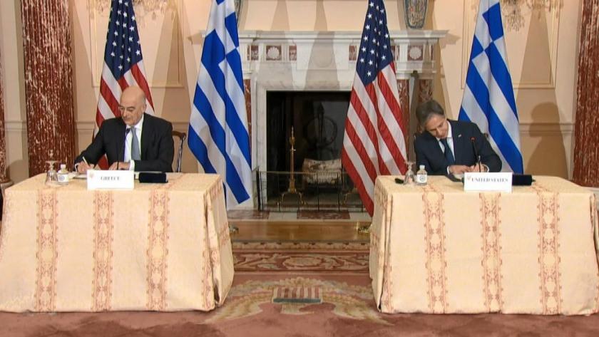 ABD ile Yunanistan imzaladı! Ortak savunma anlaşması
