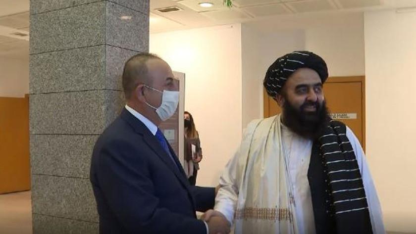 Taliban heyeti, Mevlüt Çavuşoğlu ile Ankara'da görüştü!