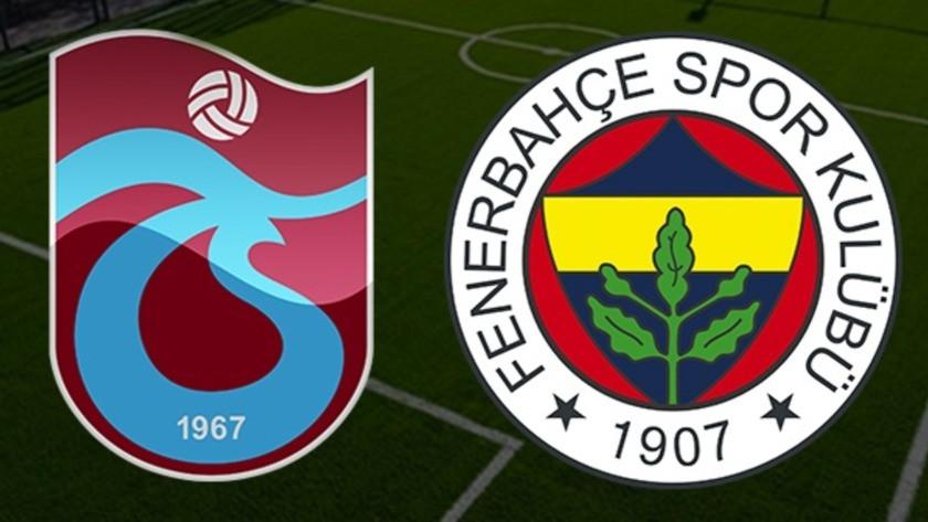 Trabzonspor - Fenerbahçe maçı ne zaman? Trabzonspor Fenerbahçe derbisi saat kaçta, hangi kanalda?