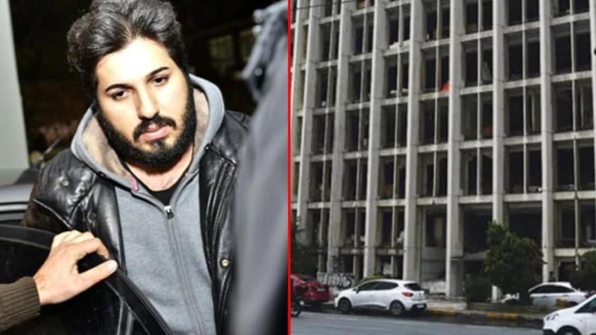 Reza Zarrab'ın holding binasının girişine duvar örüldü