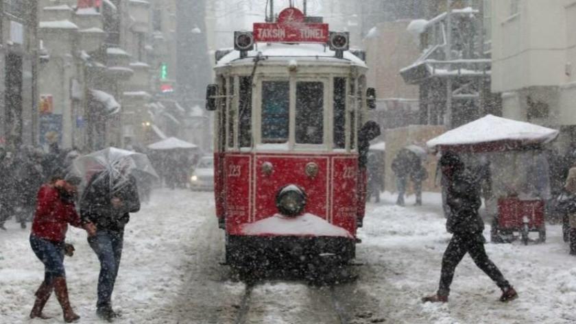 Meteoroloji'den İstanbul için kış uyarısı