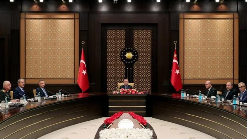 Cumhurbaşkanlığı Külliyesi'nde 2,5 saat süren SSİK toplantısı sona erdi