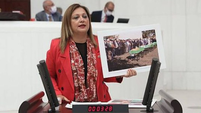 CHP Afyonkarahisar Milletvekili Burcu Köksal, Meclis kürsüsünde ağladı