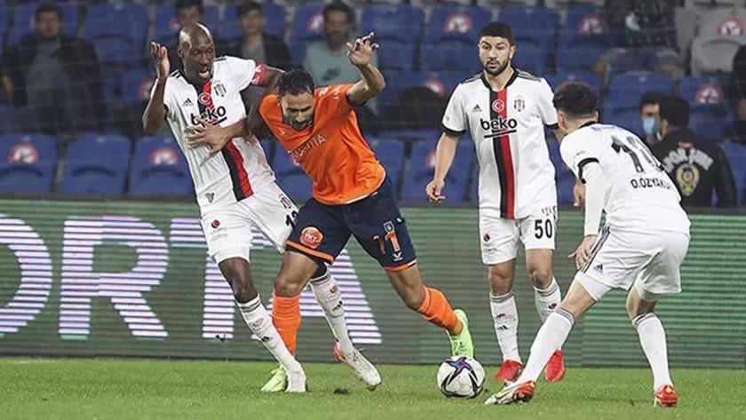 Başakşehir Beşiktaş'ı puansız yolladı