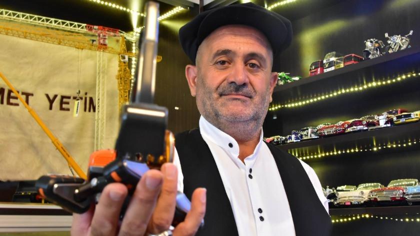 Konya'da arkadaşı hediye etti hobisi oldu!