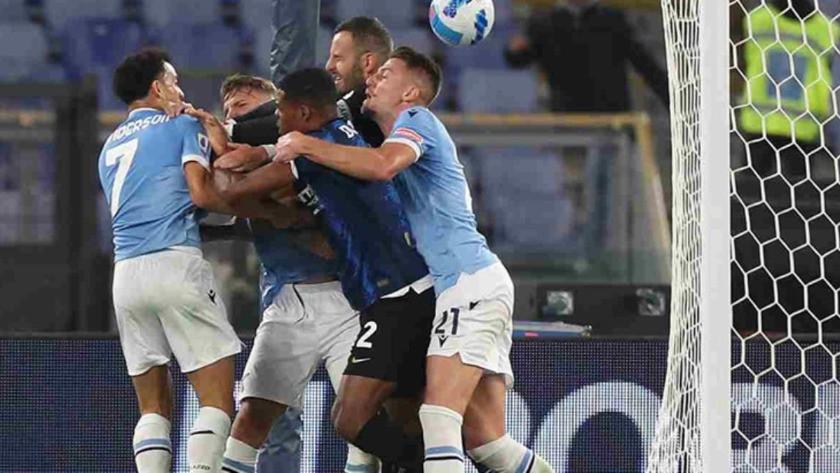 Lazio-Inter maçında ortalık savaş alanına döndü!