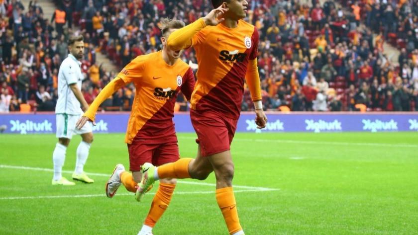 Galatasaray erken golle 3 puanı kaptı!