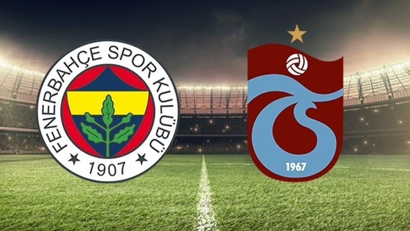 Trabzonspor - Fenerbahçe maçı saat kaçta? hangi kanalda yayınlanacak