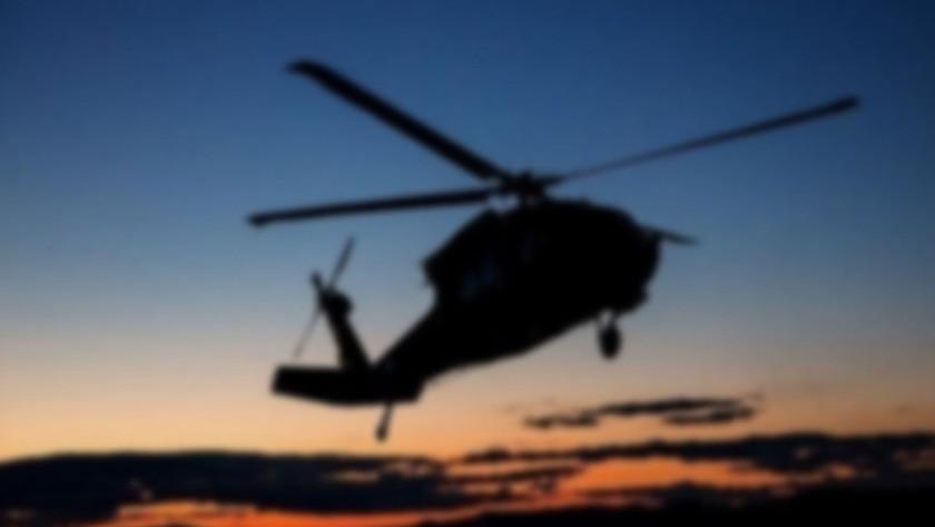 Helikopter düştü! 3 kişi hayatını kaybetti