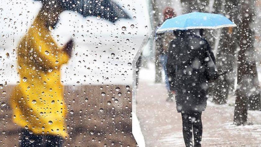 Meteoroloji'den bu illere kuvvetli sağanak yağış uyarısı