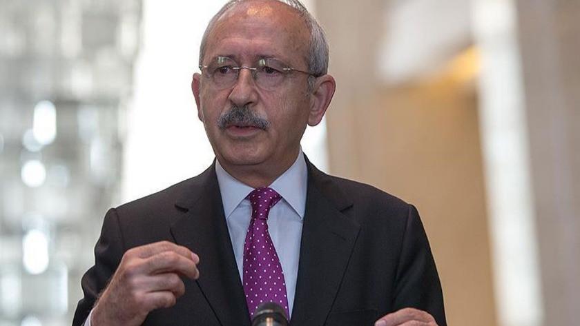 Kemal Kılıçdaroğlu partisinin grup toplantısında konuşuyor