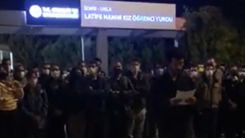 Urla KYK Yurdu'nda çok sayıda öğrenci zehirlendi iddiası