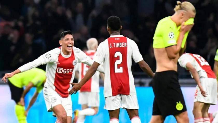 Dortmund, Ajax karşısında neye uğradığını şaşırdı