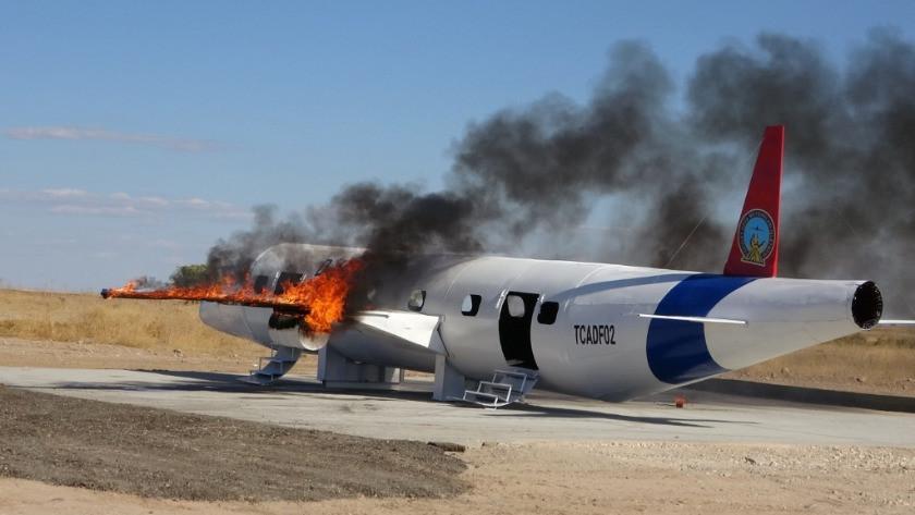Uçak düştü ihbarı yağdı! Adıyaman'da gören ihbar etti