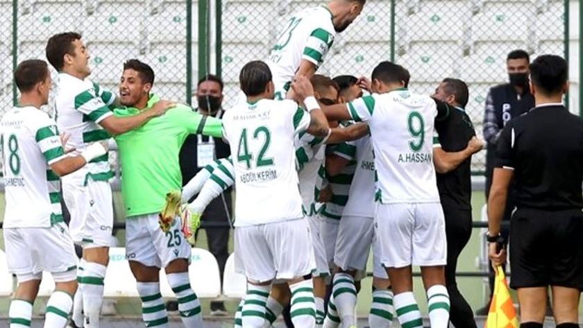Konyaspor haftalar sonra Kayseri'yi yendi