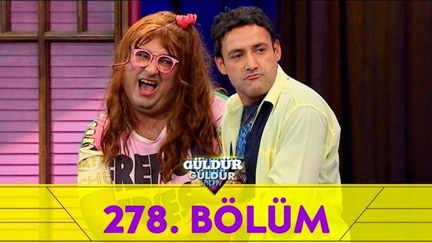 Güldür Güldür Show 278.Bölüm Ful Tek Parça İzle