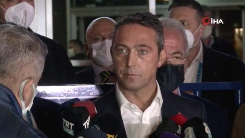 Fenerbahçe Başkanı Ali Koç'un taraftarın tepkisine açıklam!