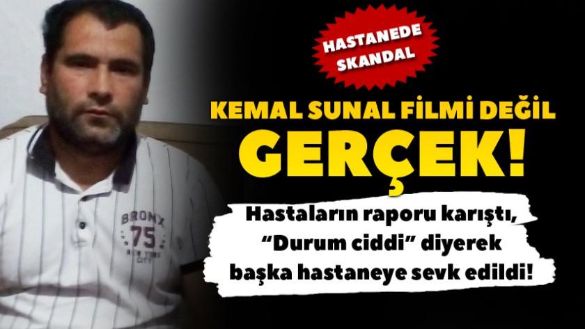 Kemal Sunal filmi gerçek oldu! Hastaların raporları karıştı!