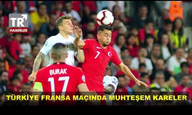 Türkiye Fransa Maçından Muhteşem Kareler - Sayfa 1