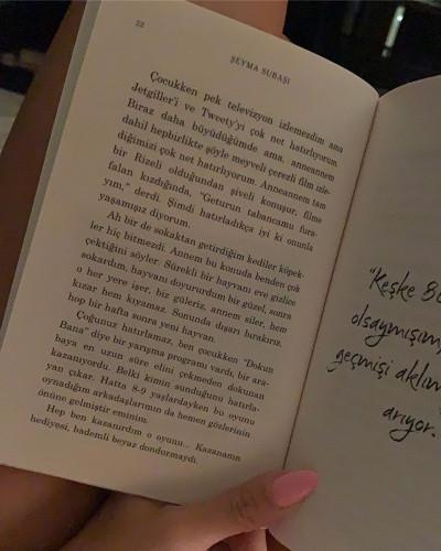 Şeyma Subaşı, kitabının sayfalarını paylaştı - Sayfa 3