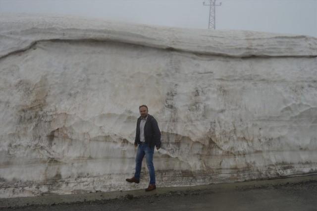 Burada Karın Kalınlığı 5 metre! Nisan ayında kar kar yağmaya devam etti! - Sayfa 2
