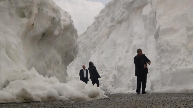 Türkiye'nin en büyük kalderasında mart ayında kar kalınlığı 8 metre! video izle - Sayfa 2