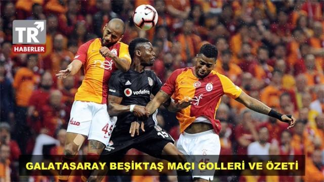 Galatasaray Beşiktaş maçından unutulmaz kareler - Sayfa 1