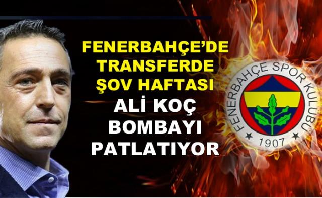 Fenerbahçe'de transferde şov haftası! Ali Koç Bomba patlatıyor! - Sayfa 1