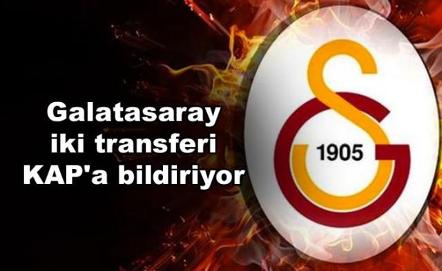 Galatasaray Transfer Haberi   Galatasaray iki transferi KAP'a bildiriyor - Sayfa 1