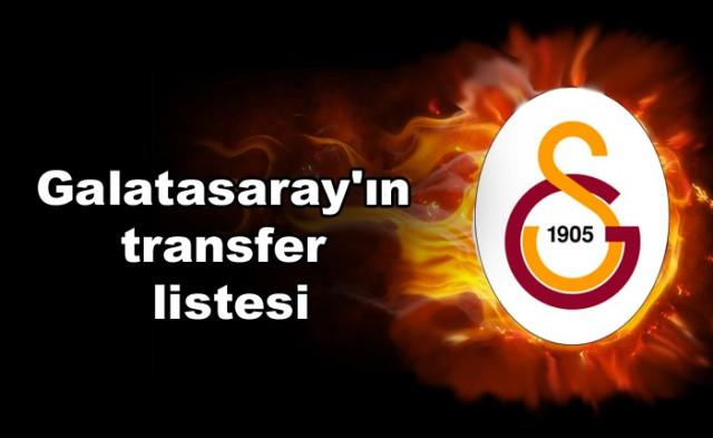 İşte Galatasaray'ın transfer listesi - Sayfa 1