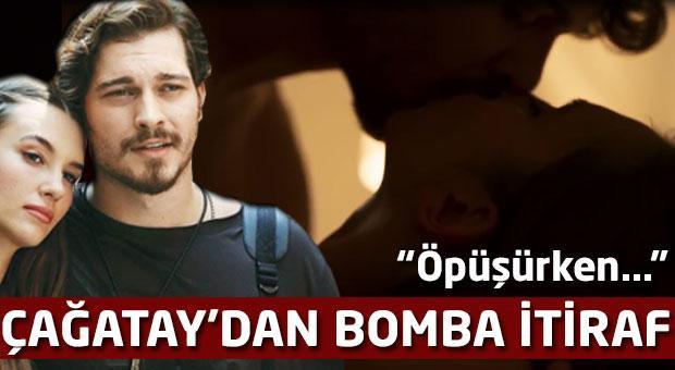 Çağatay Ulusoy'dan bomba itiraf: Öpüşürken...