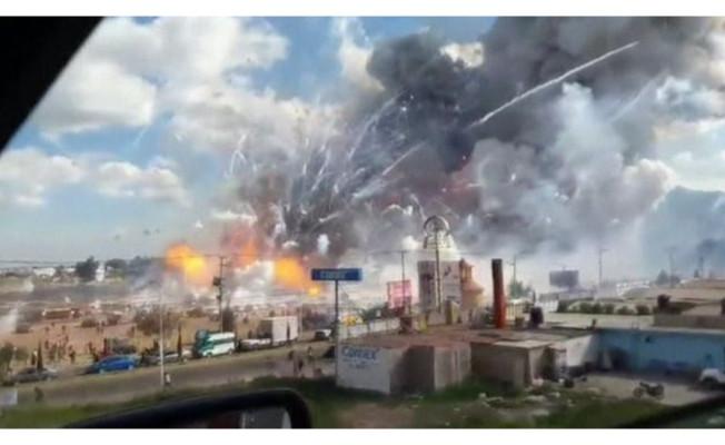 Havai fişek pazarında patlama ölü sayısı artıyor