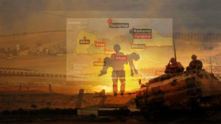 El Bab'da şehit düşen Tankçı Uzman Çavuş Şahin'in ailesine haber verildi
