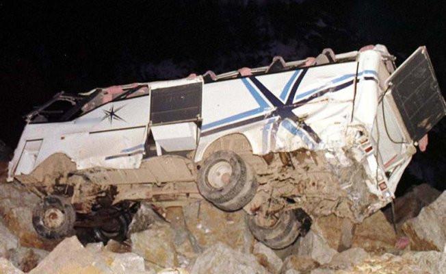 Filipinler'de otobüs kazası: 24 ölü