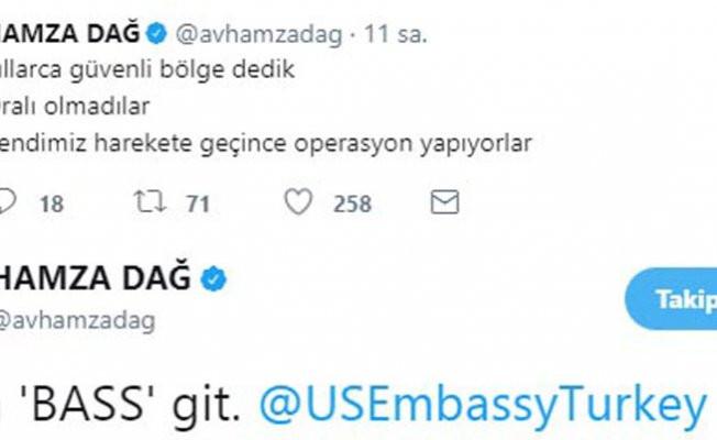 AK Partili Dağ'dan ABD'nin Ankara Büyükelçisi Bass'e gönderme