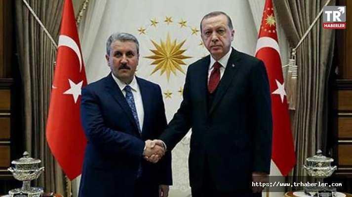 BBP Genel Başkanı Destici: Cumhur İttifakı'nda yer alacağız